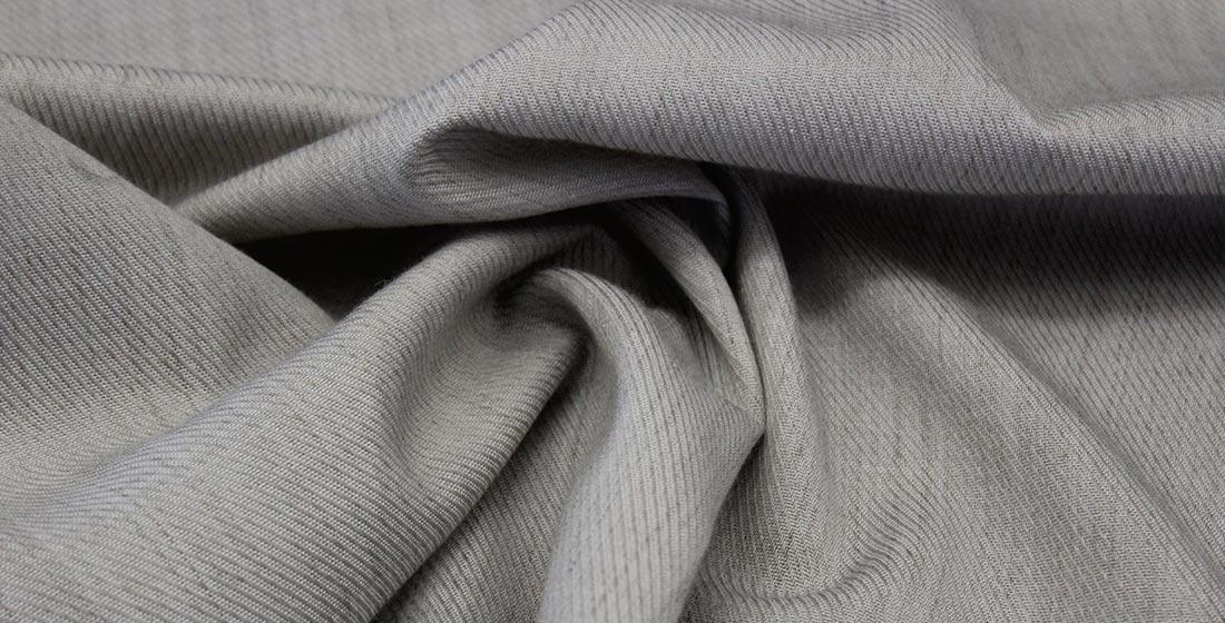 Wintex branded gray fabric
