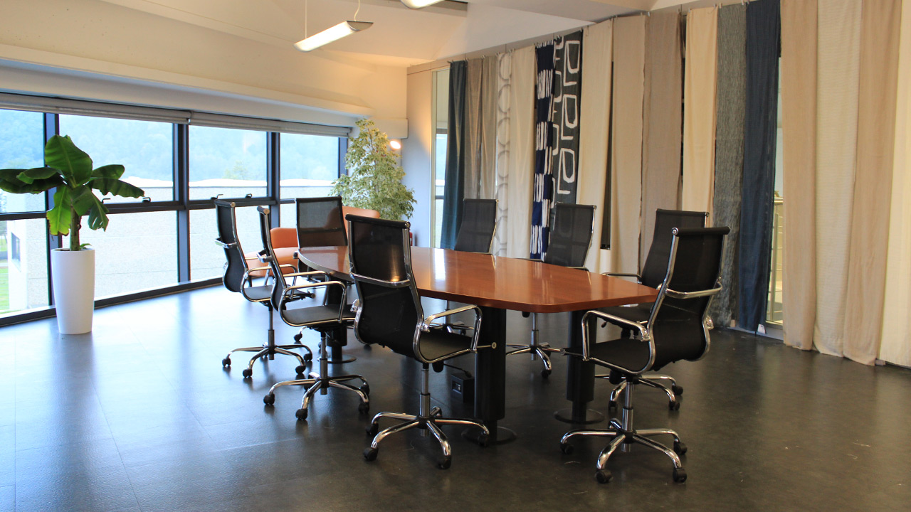 Meeting room inside the company